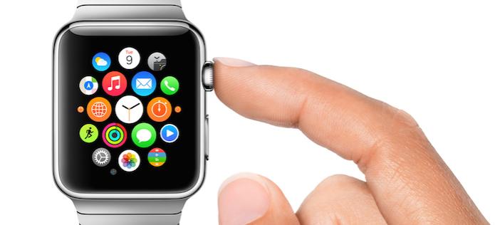 Coroa digital do Apple Watch (Foto: Divulgação/Apple) (Foto: Coroa digital do Apple Watch (Foto: Divulgação/Apple))