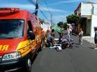 Idosa morre após ser atropelada duas vezes  (Ricardo Missão / TV TEM)