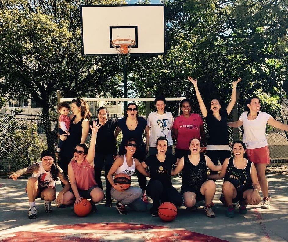 Magic Minas: grupo de basquete só para mulheres em SP (Foto: Instagram/Reprodução)