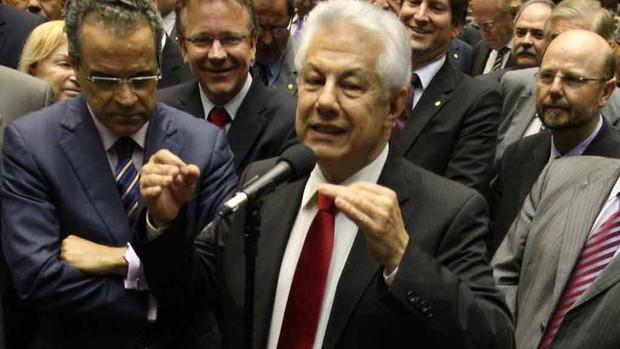 Arlindo Chinaglia deputado federal (Foto: Ed Ferreira/Agência Estado)