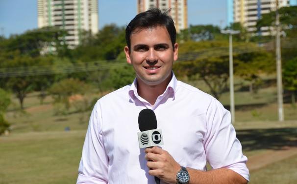 David de Tarso integra a equipe de jornalismo da TV Fronteira (Foto: Marketing / TV Fronteira)