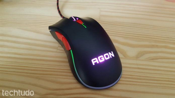 Mouse gamer Agon AGM3050/D (Foto: Rodrigo Rosalinski/TechTudo)