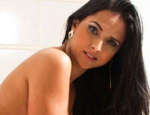 sylvia damacen, candidata a musa do vitoria (Foto: Arquivo pessoal)