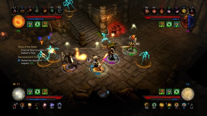 O RPG de ação da Blizzard é um dos jogos que oferecem suporte a 4 jogadores locais (Foto: Divulgação/Blizzard)