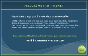 Interface RJNET Velocímetro