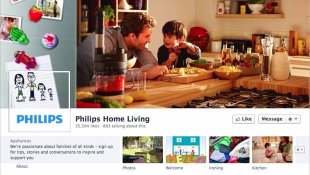 Facebook: Philips (Foto: reprodução / internet)