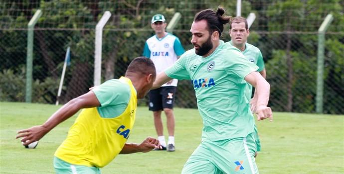 Léo Gamalho - atacante do Goiás (Foto: Rosiron Rodrigues / Goiás E.C.)