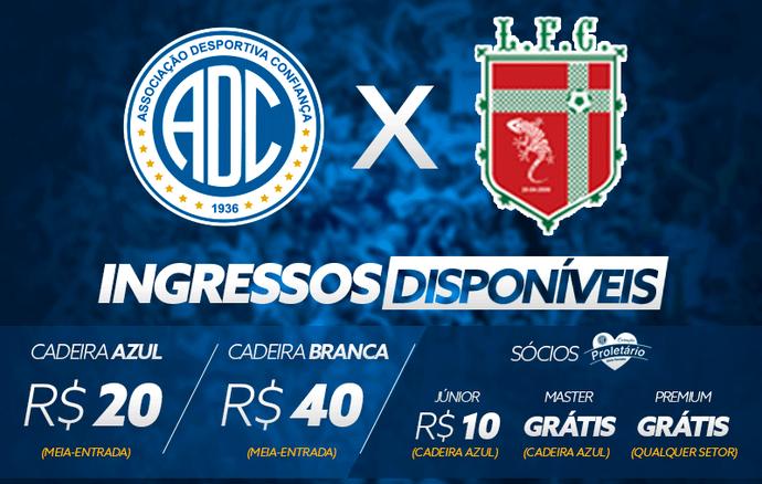 Confiança x Lagarto (Foto: Divulgação/ADC)