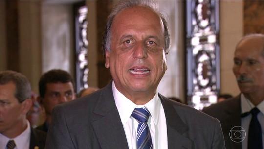 Governador do RJ diz que estado está ficando ingovernável