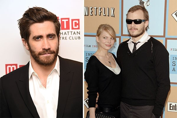 Jake Gyllenhaal, Michelle Williams e Heath Ledger (Foto: Getty Images)