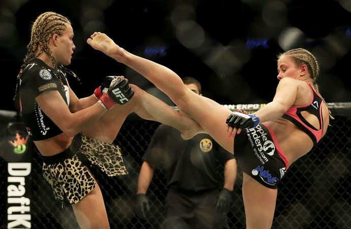 Paige VanZant Felice Herrig UFC MMA (Foto: Getty Images)