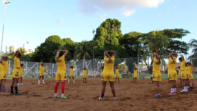Genus feminino treino (Foto: Daniele Lira)