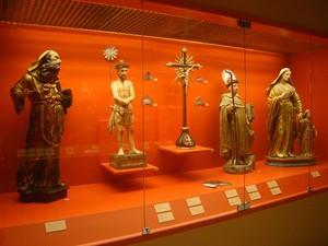 Acervo do Museu inclui imagens barrocas (Foto: Thiago Leon/Museu N. S. Aparecida)