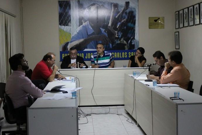Tribunal de Justiça Desportiva do Piauí  (Foto: Wenner Tito )