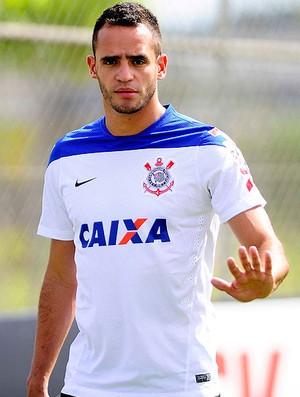 renato augusto Corinthians treino (Foto: Marcos Ribolli / Globoesporte.com)