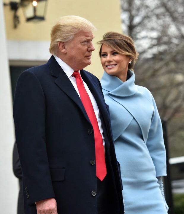 Donald Trump e Melania Trump (Foto: afp)