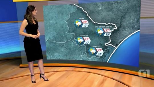 Previsão é de chuva em todas as regiões do RS nesta terça-feira