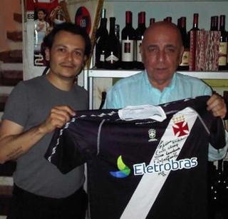 Franck Assunção Vasco no Facebook pessoal (Foto: Reprodução/Facebook)