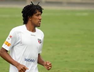 Cortez treino São Paulo (Foto: Anderson Rodrigues / Globoesporte.com)