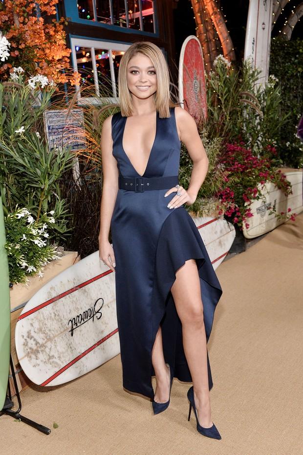 Sarah Hyland em premiação em Los Angeles, nos Estados Unidos (Foto: Stefanie Keenan/ Getty Images)