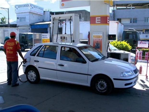 Pos de combustíveis está localizado em São Torquato, Vila Velha (Foto: Reprodução/ TV Gazeta)