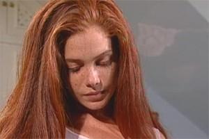 Grampola, personagem de Karla Muga, a ruiva de 'A Indomada' (Foto: Divulgação)