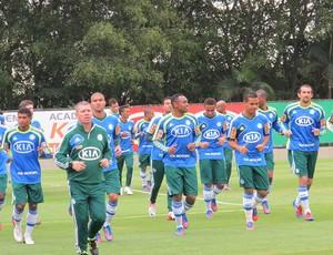Treino do Palmeiras (Foto: Marcos Guerra / Globoesporte.com)