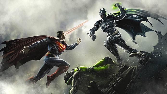 Batman e Superman são inimigos em Injustice: Gods Among Us (Foto: Divulgação/WB Games)