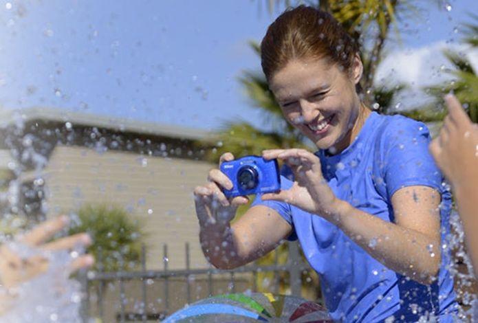 Até câmera vale entre os presentes high-tech para crianças (Foto: Divulgação/Coolpix)