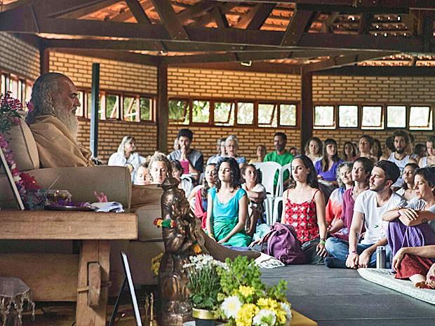Mestre espiritual Sri Prem Baba ministra workshop  (Foto: Sitah/Divulgação)