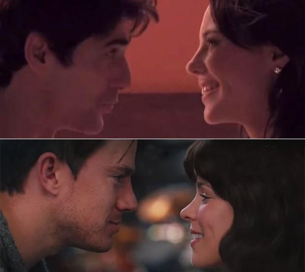 Paolla Oliveira em Felizes para Sempre e Rachel McAdams no filme The Vow  (Foto: Reprodução / Youtube)