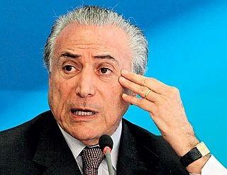 Michel Temer,  vice-presidente da República (Foto: Givaldo Barbosa / O Globo)