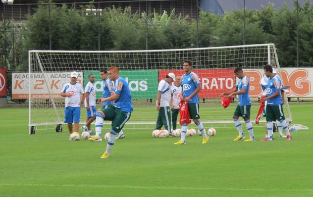 Souza treino Palmeiras (Foto: Gustavo Serbonchini)
