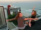 Maroca e Marien mostram seu triplex em frente à praia: 'M&M House'