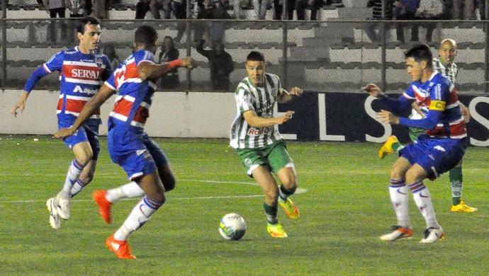 Juventude x Fortaleza pela Série C no Alfredo Jaconi (Foto: Arthur Dallegrave / Juventude, DVG)