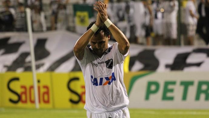Gilmar - atacante do ABC (Foto: Fabiano de Oliveira)