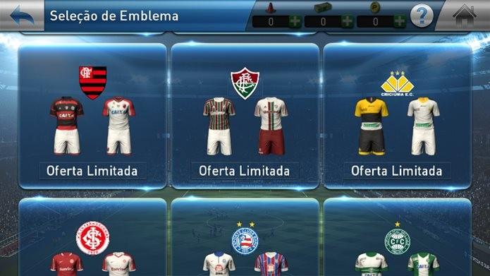 PES Club Manager chegou ao iOS em português e com times brasileiros (Foto: Reprodução / Dario Coutinho)