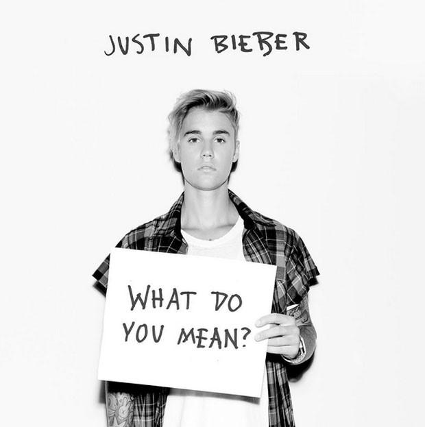 Justin Bieber em imagem de divulgação do single 'What do you mean?' (Foto: Divulgação)