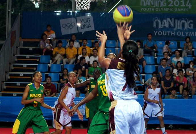 basquete brasil torneio 3 x 3 Nanquim Jogos Olímpicos da Juventude (Foto: Thierry Gozzer)