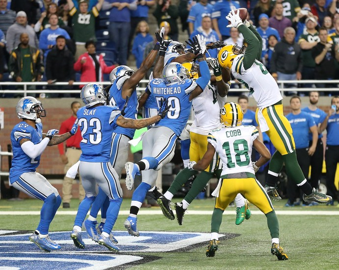 futebol americano NFL Richard Rodgers (Foto: Getty Images)