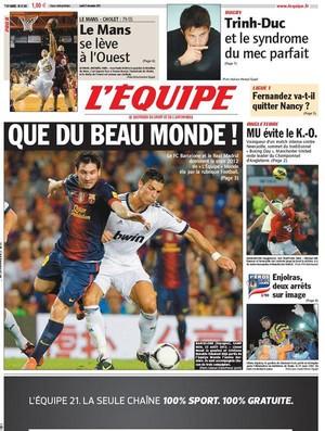 Capa Lequipe (Foto: Reprodução / Lequipe.fr)