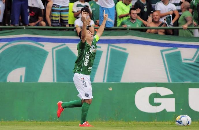Fumagalli meia Guarani (Foto: Rodrigo Villalba / Memory Press)