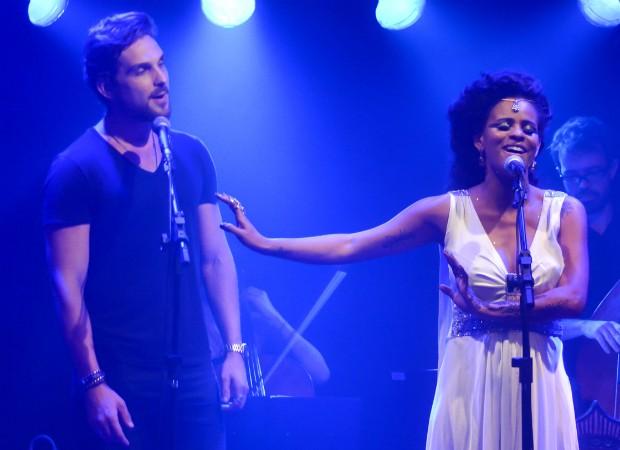 Igor Rickli e Aline Wirley (Foto: Caio Duran / CDC Shows e Eventos / Divulgação)