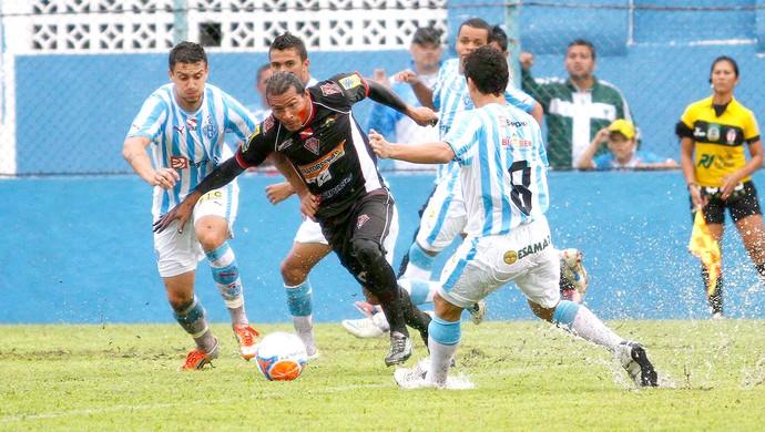 Aru no jogo Gavião Kyikate contra Paysandu (Foto: Ricardo Lima / Futura Press)
