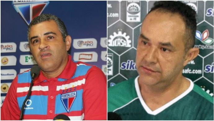 Em situações distintas, Fortaleza e Ferroviário se enfrentam no Alcides Santos  (Foto: Arte/ GloboEsporte.com )