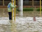 Chuvas em SC atingem ao menos 72 cidades e ainda há risco de inundação