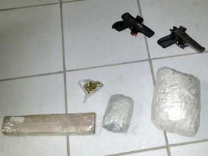 operação conjunta polícia Militar  Civil Formiga Arcos  Iguatama quadrilha são paulo drogas armas (Foto: Polícia Militar/Divulgação)