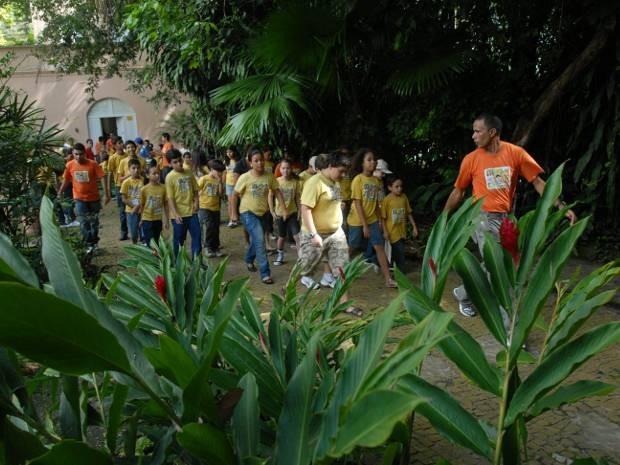 Projeto Clube do Pesquisador Mirim (CPM) é uma iniciativa mantida pelo Museu Paraense Emílio Goeldi, em Belém. (Foto: Paula Sampaio/O Liberal)