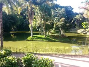 Visita guiada Parque Museu Juiz de Fora 19 (Foto: Roberta Oliveira/G1)