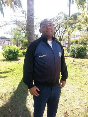 Clóvis Santos vice-presidente do Tupi-MG (Foto: Roberta Oliveira )
